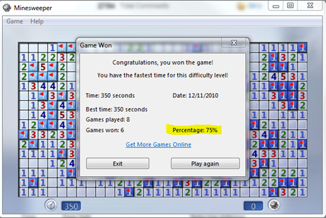 Fractals Of Change Is Minesweeper For Windows 7 A Game Of All Skill